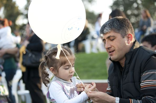 turkish dad and daughter